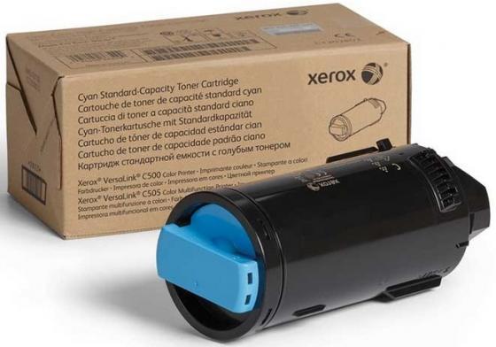 Картридж Xerox 106R03877 голубой (cyan) 2400 стр для Xerox VersaLink C500/505