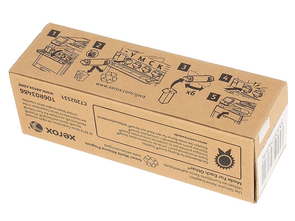 Картридж Xerox 106R03486 пурпурный (magenta) 2400 стр. для Xerox P6510/WC6515 картридж xerox magenta 106r01632
