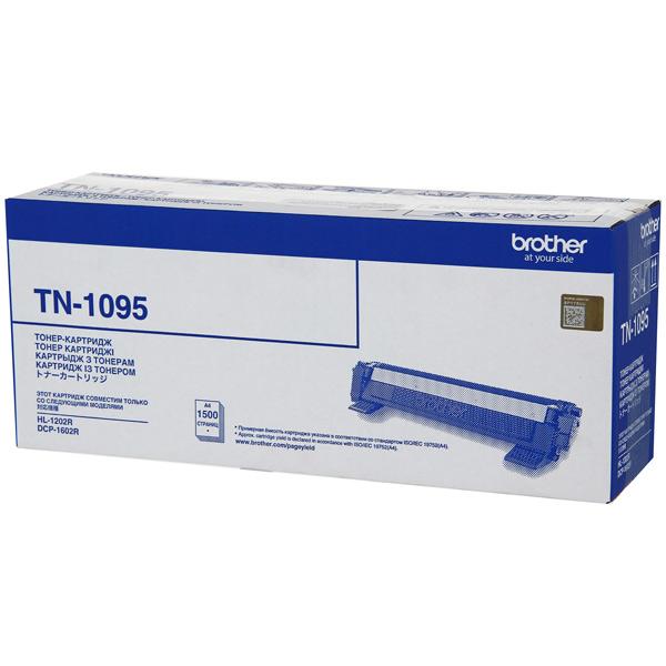 Тонер-картридж Brother TN1095 черный (black) 1500стр. для Brother HL-1202R/DCP-1602R