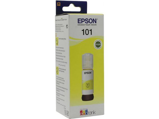 Картридж Epson Original T03V44A Yellow (желтый) 70мл для Epson L4150/4160/6160/6170/6190 цена