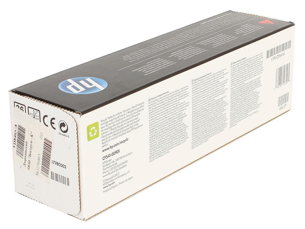 Картридж HP CF541A (HP 203A) для HP LaserJet M254/M280/M281. Голубой. 1300 страниц. фото