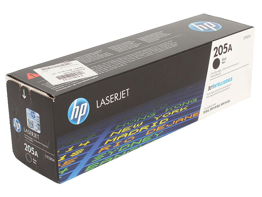 Картридж HP CF530A (HP 205A) для HP LaserJet M180/M181. Чёрный. 1100 страниц. цены