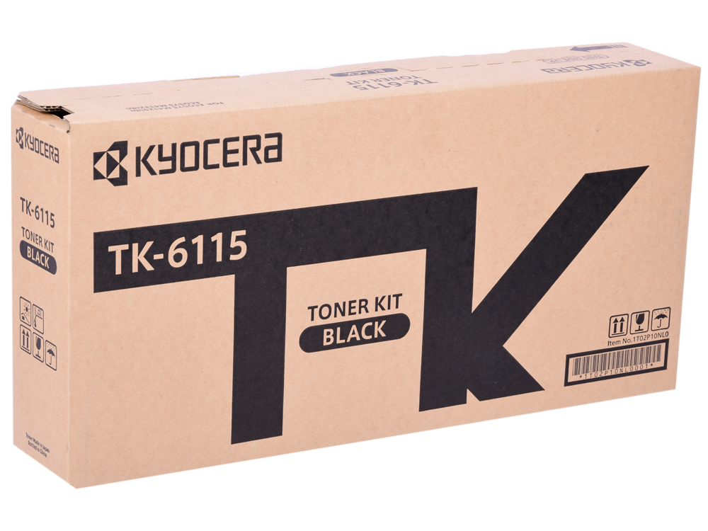 Картридж Kyocera TK-6115 черный (black) 15000стр для Kyocera M4125idn/M4132idn