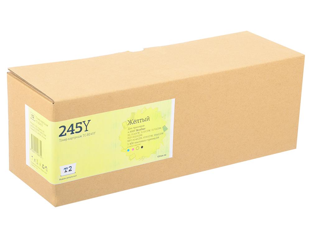 Картридж T2 TC-B245Y для Brother HL-3140CW/3170CDW/DCP-9020CDW/MFC-9330CDW (2200 стр.)