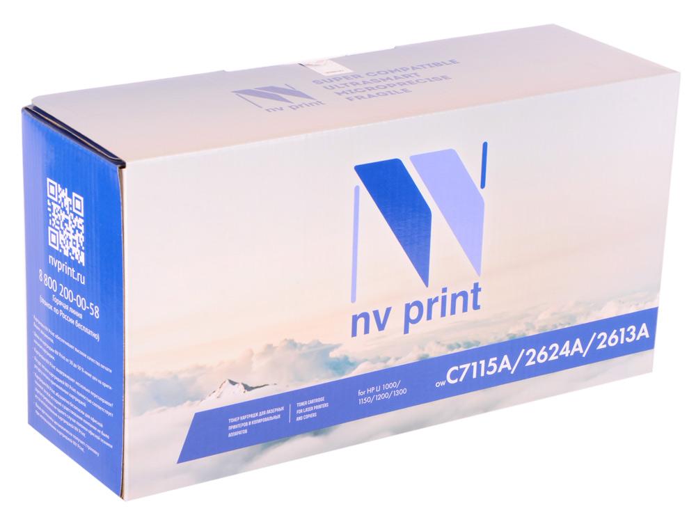Картридж NV-Print черный (black) 2500 страниц для HP C7115A/Q2624A/Q2613A flower print chiffon dress