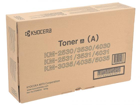 Картридж Kyocera 370AB000 для KM 2530 3530 3035 4030 4035 черный 34000стр 2ar07220 2ar07230 2ar07240 paper pickup feed separation roller tire rubber for kyocera km1620 1650 2020 2050 3035 3040 4030 5050