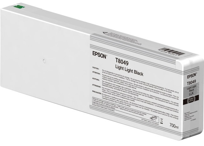 цена на Картридж Epson C13T804900 серый (grey) 700 мл для Epson SureColor SC-P6000/P7000/P8000/P9000