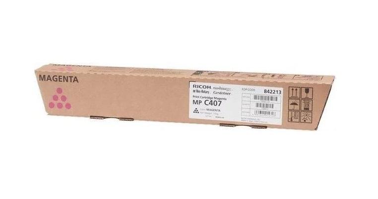 Картридж Ricoh MP C407 пурпурный (magenta) 8000 стр. для Ricoh Aficio MP C307SPF/C307SP/C407SPF