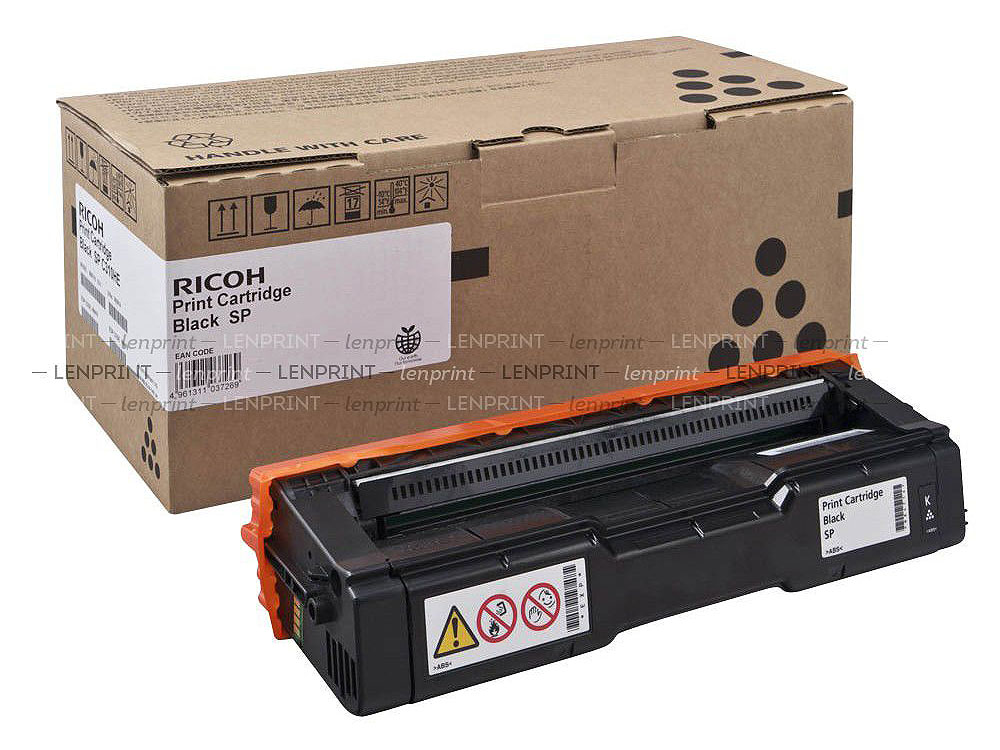 Принт-картридж Ricoh C360E Черный (black) 2500 стр. для Ricoh SP C360DN/360SNw/360SFNw/361SFNw тонер картридж ricoh sp 230h черный black 3000 стр для ricoh sp 230dnw 230sfnw