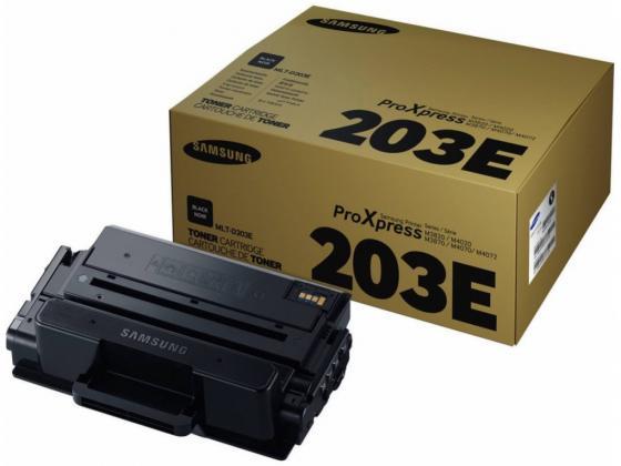 Картридж Samsung SU887A MLT-D203E черный (black) 10000 стр для Samsung ProXpress M3820/4020, M3870/4070