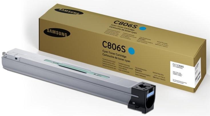 цена на Картридж Samsung CLT-C806S голубой (cyan) 30000 стр. для Samsung SL-X7600GX