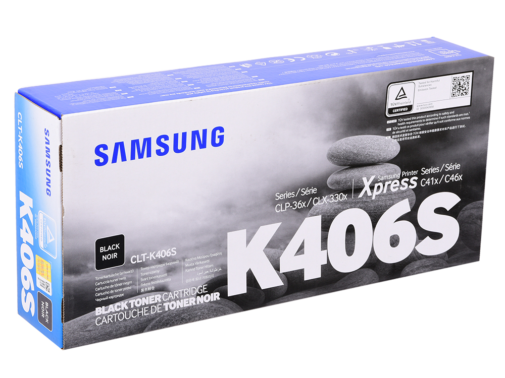 Картридж Samsung (HP) SU120A CLT-K406S черный (black) 1500 стр для Samsung CLP-360/365 / CLX-3300/3305 samsung clt k504s black