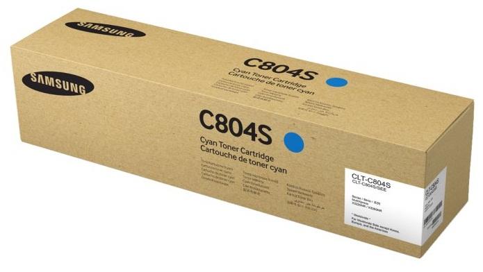 Картридж Samsung CLT-C804S голубой (cyan) 15000 стр. для Samsung SL-X3280N
