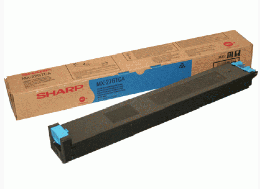 Картридж Sharp MX27GTCA голубой (cyan) 15000 стр. для Sharp MX-2300N/2700N sharp mx31gtba