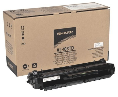 Картридж Sharp AL103TD черный (black) 2000 стр. для Sharp AL-1035 sharp ar455dm