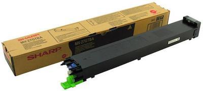 Картридж Sharp MX27GTBA черный (black) 18000 стр. для Sharp MX-2300N/2700N тонер картридж sharp mx27gtba черный 18 000 страниц