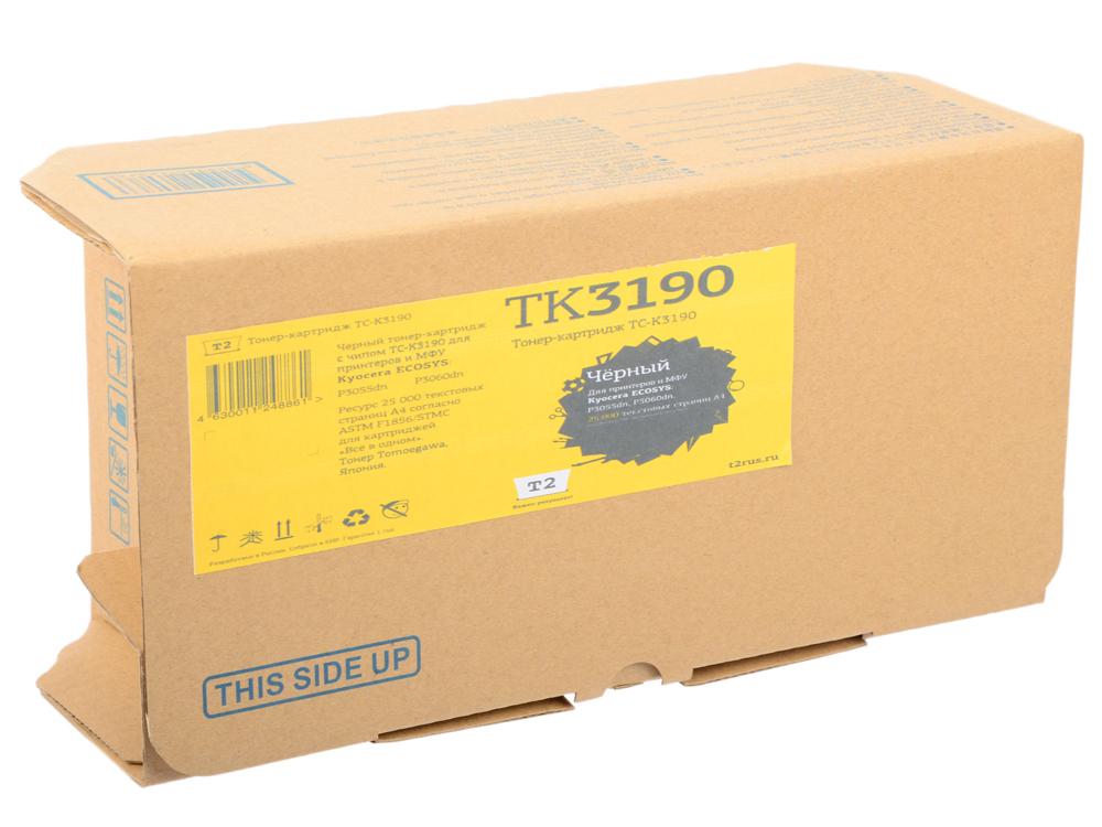 Картридж T2 TC-K3190 черный (black) 25000 стр. для Kyocera P3055dn/P3060dn картридж t2 tc k1120 черный