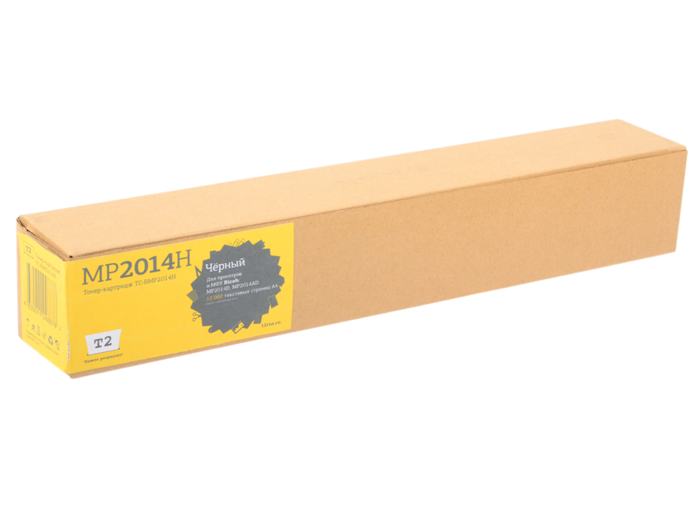 цены Картридж T2 TC-RMP2014H черный (black) 12000 стр. для Ricoh Aficio MP 2014D/2014AD