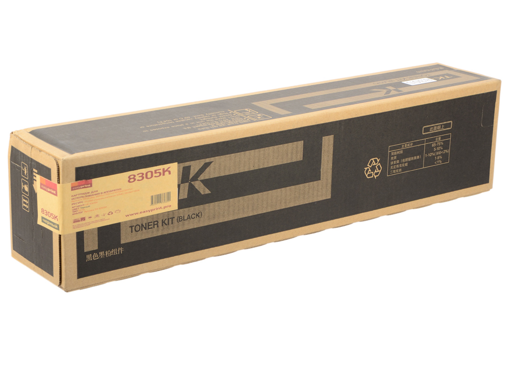 Тонер-картридж EasyPrint LK-8305K черный (black) 25 000 стр для Kyocera TASKalfa 3050/3051/3550/3551