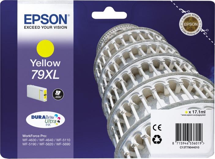 Картридж Epson C13T79044010 желтый (yellow) 2600 стр. для Epson WorkForce Pro WF-5110DW/5620DWF