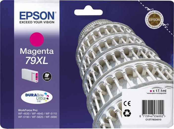 Картридж Epson C13T79034010 пурпурный (magenta) 2600 стр. для Epson WorkForce Pro WF-5110DW/5620DWF