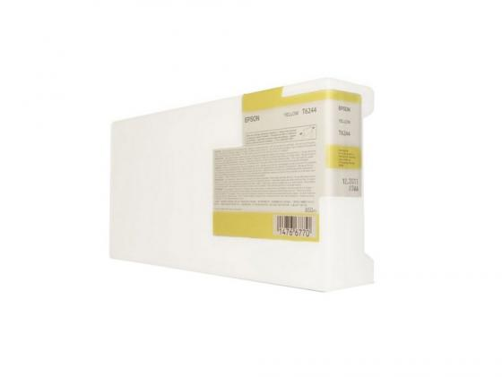 цена на Картридж Epson C13T624400 желтый (yellow) 950 мл для Epson Stylus Pro GS6000