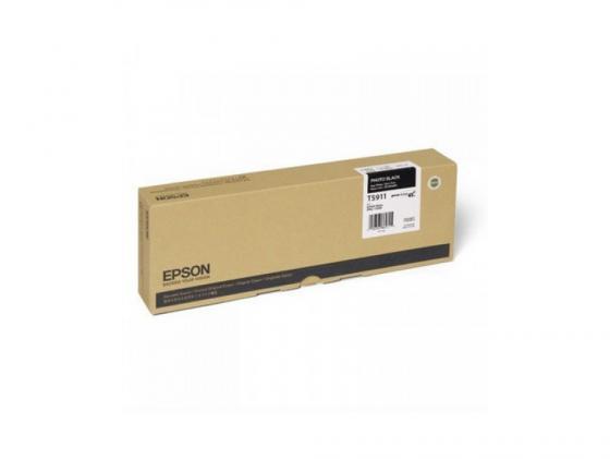 Картридж Epson C13T591100 для Epson Stylus Pro photo black черный цены онлайн