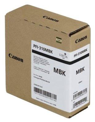 Картридж Canon PFI-310 MBK черный матовый (matte black) 330 мл для Canon iPF TX-2000/3000/4000 картридж canon pfi 307 mbk чёрный матовый