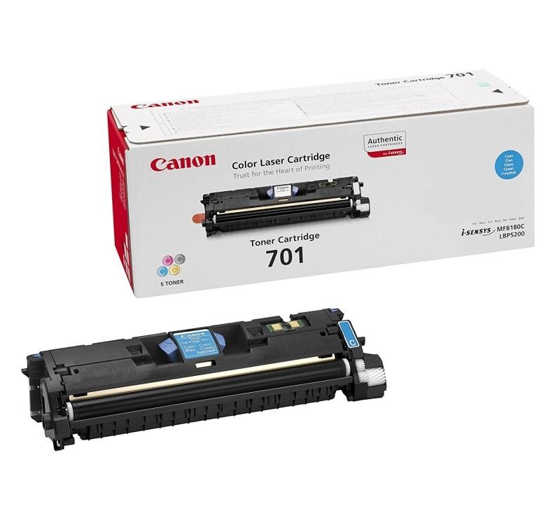Картридж Canon 701L голубой (cyan) 2000 стр. для Canon LBP 5200/MF8180C