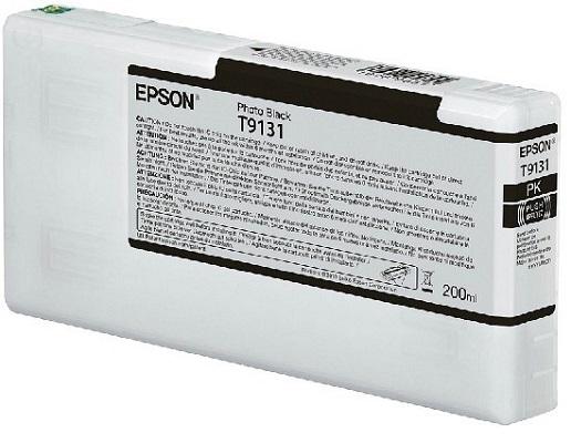 Картридж Epson C13T913100 черный (black) 200 мл для Epson SureColor SC-P5000 картридж epson c13t596300
