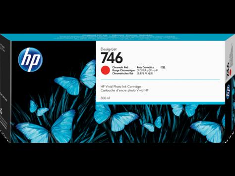 Картридж HP 746 красный хром (chromatic red) 300 мл для HP DesignJet Z6/Z9+