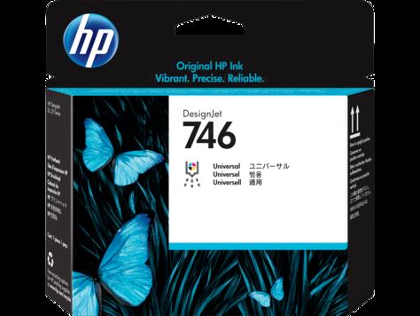Печатающая головка HP 746 DesignJet (P2V25A) для HP DesignJet Z6/Z9+ картридж струйный hp 771c b6y32a хроматический красный для designjet z6200 printer series 775 мл 3 шт в упаковке