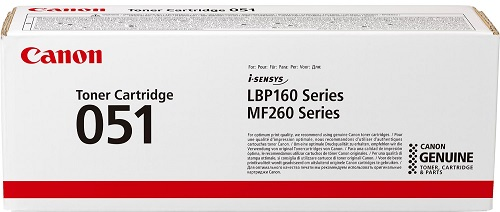 Картридж Canon 051 черынй (black) 1700 стр. Canon LBP162dw, MF264dw, MF267dw, MF269dw
