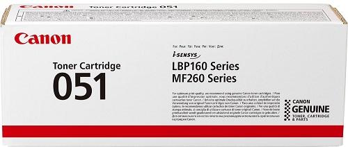 Картридж Canon 051 черынй (black) 1700 стр. Canon LBP162dw, MF264dw, MF267dw, MF269dw canon