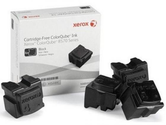 Набор твердочернильных брикетов Xerox 108R00940 для ColorQube 8570 4шт черный 8600стр набор брикетов для копчения торфтехнолин ольха 15 шт