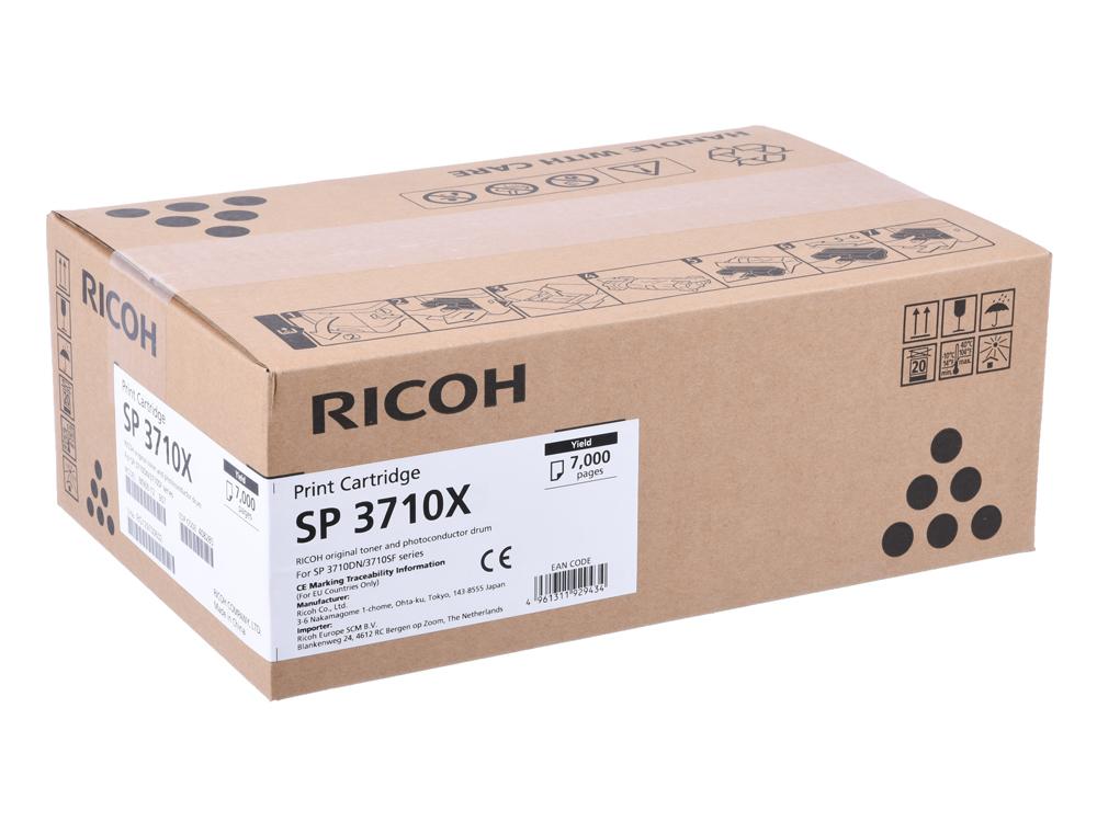 Картридж Ricoh SP 3710X черный (black) 7000 стр. для Ricoh SP 3710DN/3710SFN