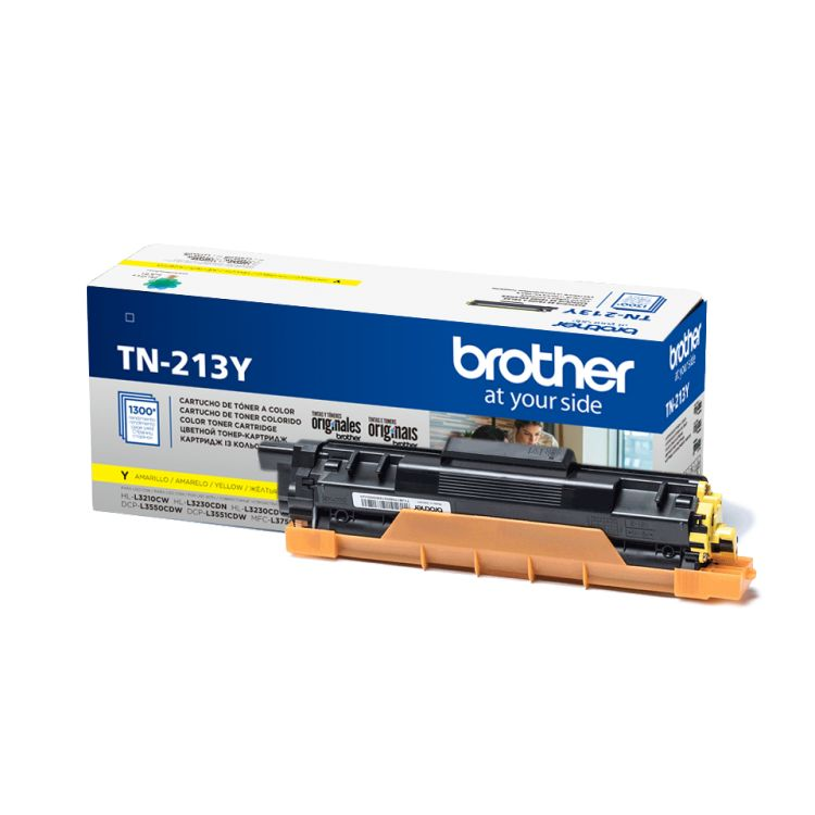 Картридж Brother TN213Y желтый (yellow) 1300 стр. для Brother HL-L3230CDW / DCP-L3550CDW / MFC-L3770CDW картридж для мфу brother lc970y yellow
