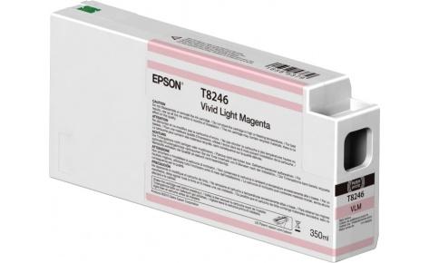 Картридж Epson C13T824600 яркий светло пурпурный (vivid light magenta) 350 мл Epson SureColor SC-P6000/SC-P7000/SC-P7000V/SC-P8000/SC-P9000/SC-P9000V t6933 magenta 350 мл c13t693300