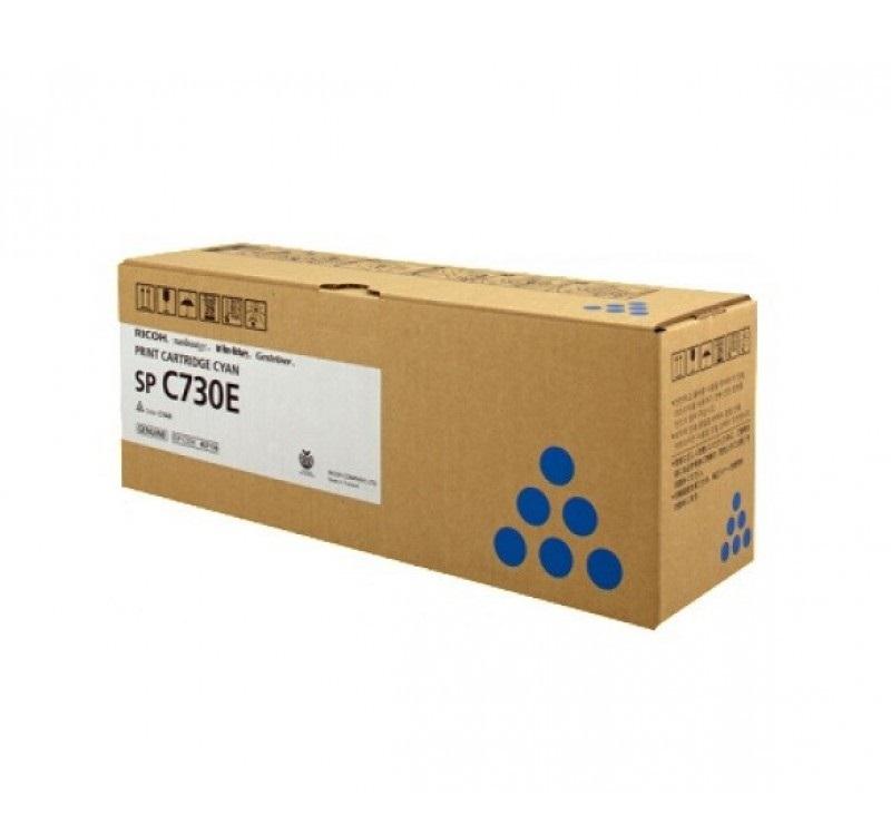 Картридж Ricoh SP C730E голубой (cyan) 9300 стр для Ricoh Aficio SP-C730DN
