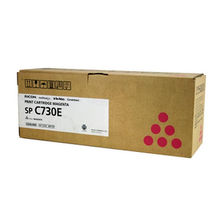 Картридж Ricoh SP C730E пурпурный (magenta) 9300 стр для Ricoh Aficio SP-C730DN