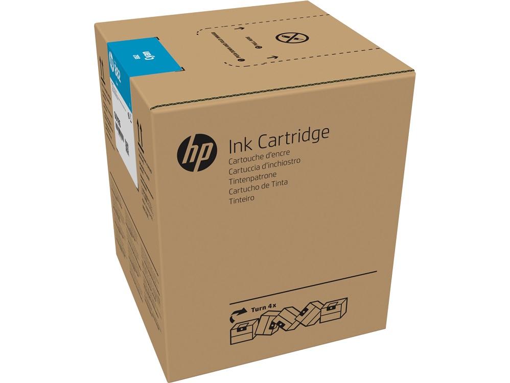 цена на Картридж HP 882 голубой (cyan) 5000 мл для HP Latex R2000