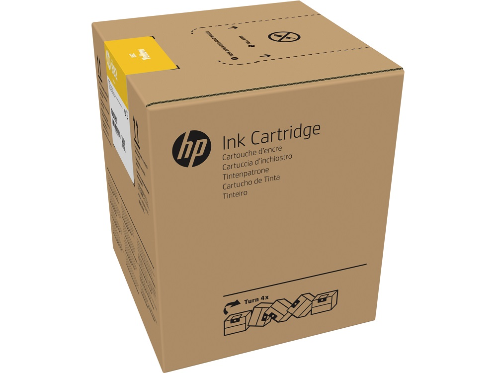 Картридж HP 882 желтый (yellow) 5000 мл для HP Latex R2000 картридж hp 935 yellow c2p22ae