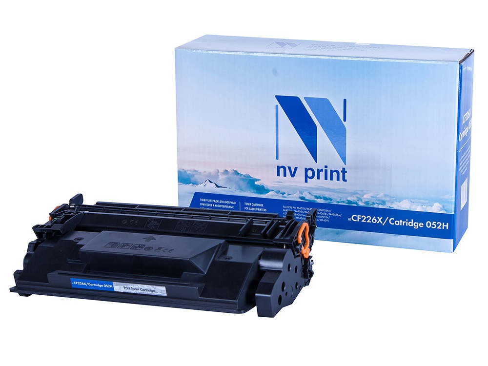 Картридж NV-Print NV-CF226X/Canon 052 черный (black) 9200 стр. для HP LaserJet Pro M402/M426 / i-SENSYS LBP212dw/LBP214dw/LBP215x / MF421dw/MF426dw/MF428x/MF429x картридж hp cf226x для hp laserjet pro m402 mfp m426 чёрный 9000 страниц