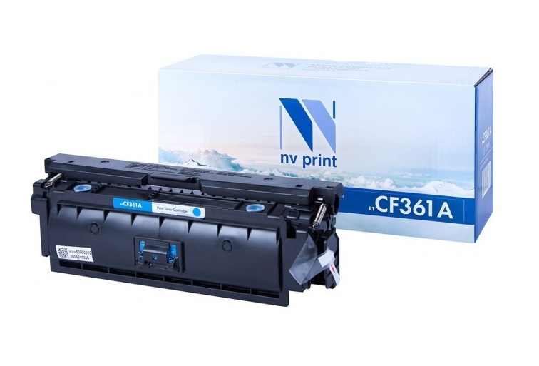 Картридж NV-Print CF361A голубой (cyan) 5000 стр для HP LaserJet Color M552dn/M553/M577 c3974 60001 logic main board use for hp laserjet 5000 hp5000 formatter board mainboard