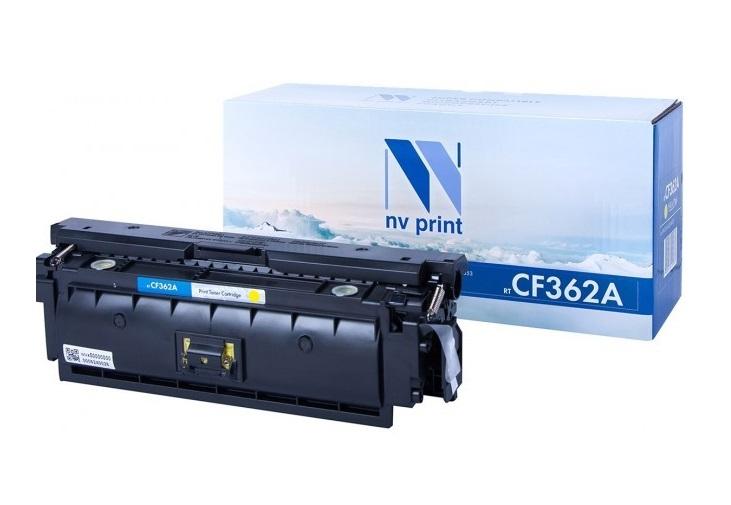 Картридж NV-Print CF362A желтый (yellow) 5000 стр для HP LaserJet Color M552dn/M553/M577 c3974 60001 logic main board use for hp laserjet 5000 hp5000 formatter board mainboard