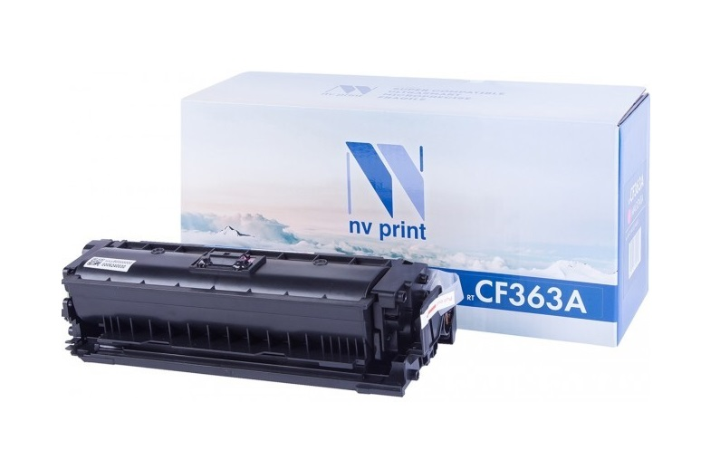 Картридж NV-Print CF363A пурпурный (magenta) 5000 стр для HP LaserJet Color M552dn/M553/M577 цены