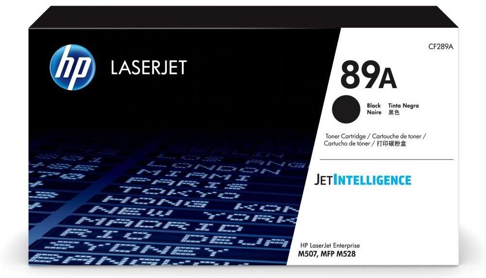 Картридж HP 89A (CF289A) черный (black) 5000 стр для HP LaserJet Enterprise M507/M528 картридж hp cf362a для laserjet enterprise m553 жёлтый 5000 страниц 508a