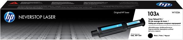 Картридж HP 103A (W1103A) черный (black) 2500 стр для HP Neverstop Laser 1000/1200 картридж hi black ce310a 729 1200 стр