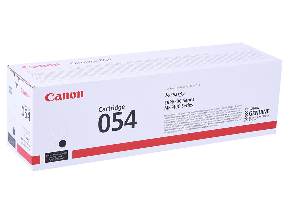 Картридж Canon 054 Bk черный (black) 1500 стр. для Canon i-SENSYS LBP621/623 / MF641/643/645 пробка для бутылки shorty