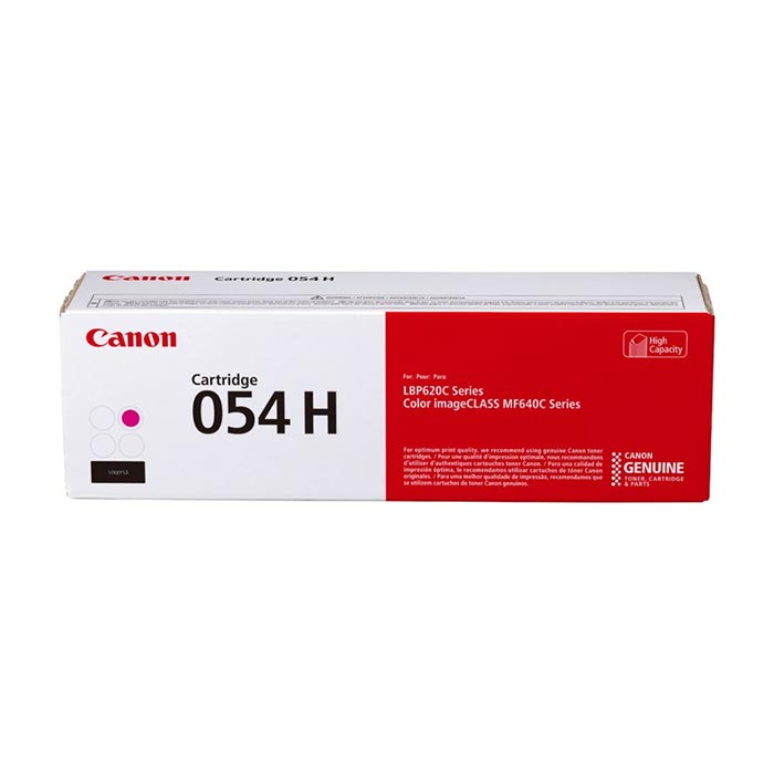 цена на Картридж Canon 054 H M пурпурный (magenta) 2300 стр. для Canon i-SENSYS LBP621/623 / MF641/643/645